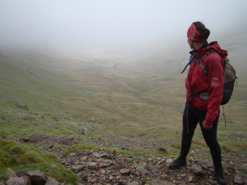 10 - Blik op de vallei waar we door zullen afdalen