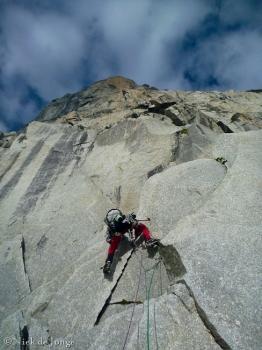 05 - Jefta in de eerste lengte vanaf de gletsjer