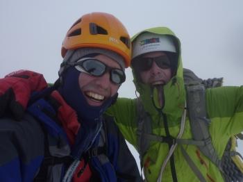 31 - Op de top vd Mt. Blanc ©N. van Veen