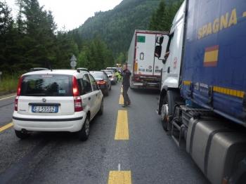 32 - Op weg naar Italië via de tunnel om de auto te halen ©N. van Veen